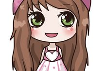 Rebeca kawaii manga y anime