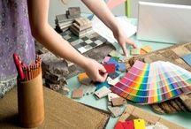 interior designer at work profession