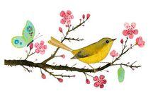 madár a fán