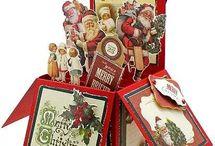 Karácsony és téli örömök / Képeslapok, kreatív ötletek