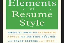 Job Hunt Resources / Library resources for writing a resume, cover letter, and interviewing for a job. / by Clermont County Public Library