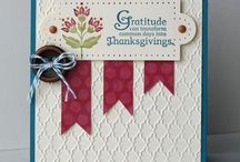 Stampin up cards / by Dione Bell