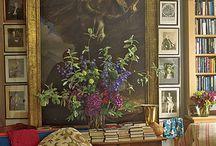 Biblioteket och sovrummet - blandad inspiration