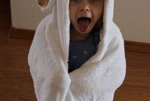 hooded bath towels / by Shirley Soellner