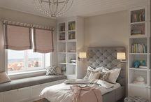 Pomysły na sypialnię/własny pokój