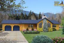 Log cabin! / by Jen Pierce Watts