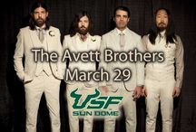 The Avett Brothers- March 29, 2014! / The Avett Brothers are coming to the USF Sun Dome on Saturday, March 29, 2014!