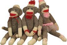 Sock Monkeys - Need I say more?
