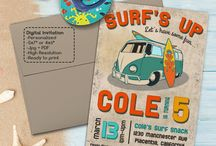 Surf's Up Surf Birthday Party Ideas