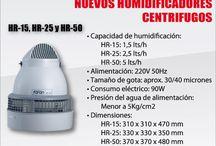 Ambientes muy secos o baja humedad?, Humidificadores para ambientes/Comercios/Industrias.
