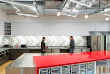 Break out spaces / Cool, creative commercial interior break out and shared kitchen spaces.