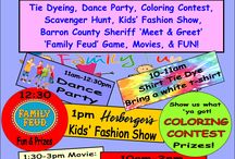 Family Fun Day / The annual FAMILY FUN DAY is August 6 (Saturday). Bring the kids and grandkids for a day of Tie Dying, Dancing, Coloring, Scavenger Hunting, Fashion Show, Games, Movies, and MORE! FREE to all, compliments of the Cedar Mall!