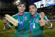 Selección Mexicana / Album de Marco Fabián con la Selección Mexicana.