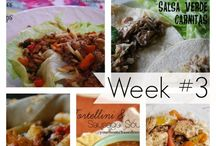 YHM Weekly Meal Plan / Let YHBM plan your meals each week with her weekly meal plan - no more What's for Dinner?  at your house!  / by Leigh Anne, YourHomebasedMom
