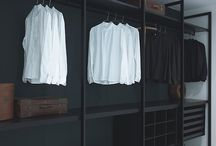 Open wardrobe systems
