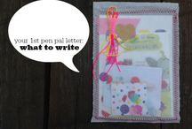 Pen pal creativity