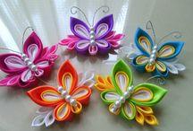 Kanzashi-motýl