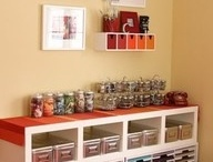 Craft room ideas / by Jocelyn Shott