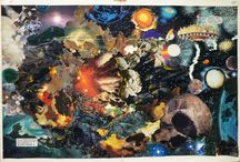 Jack Kirby Collages