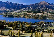 Озеро Уанака / Самым главным богатством озера Уанака является его неповторимая красота. Озеро с необъяснимою силою притягивает к себе много туристов.