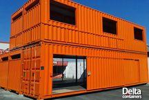 Дома из грузовых контейнеров