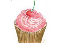 CupCakeIllustrations