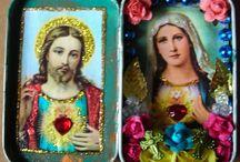 PRAYER SHADOW BOXES