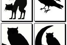 Tema halloween black