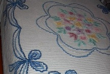 Vintage Chenille Bed Spread's / by Peggy Deatherage