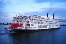 American Queen Paddle Wheeler / We are proud to have some wonderful cruises on offer aboard the stunning American Queen! For more info please visit our website http://www.cruiseline.co.uk/American-Queen-Steamboat-Company