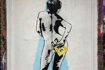 arte urbano de banksy