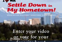 It's a video contest! / Check out the latest information about Washington REALTORS Settle Down in My Hometown video contest