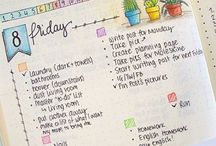 Bullet Journal Layouts / For my fellow planner addicts and bullet journalists who need some inspiration from time to time.