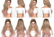 the sims 4 włosy