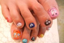 Barbapapa nails / nagels / Barbapapa nails / Barbapapa nagels