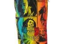 Reggae boardshort Bob Marley / Rasta reggae boardshort swim wear Bob Marley