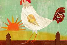 I'm Stricken with Chickens / by Cath Edvalson