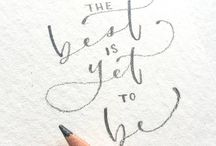 Typography by hand