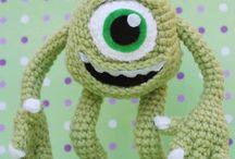 Crochet dolls/animals