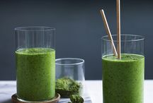 Healthy eating/green smoothies