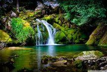 Vízesések,  Waterfalls / Földünk gyöngyszemei. Earth gems.