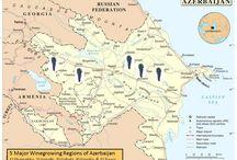 Azarbaijan - wine maps