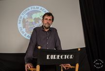 NYFA Welcomes Award-Winning Italian Filmmaker Nanni Moretti / In an event moderated by ‪#‎NYFA‬ President Michael Young, students from the New York Film Academy in New York were treated to a screening of his 1993 film Caro Diario—which awarded Nanni Moretti with Best Director at Cannes—followed by a Q&A with Moretti.