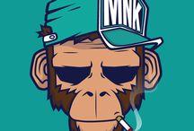 수업자료-동물<원숭이>