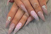pointy stone nails