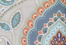 Teal And Orange Curtains