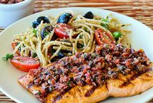 {entrees} fish and seafood