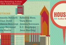Houston Author Event Promo