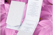 Portrait Pocketfold Invites / Our self assembly Pocketfold Invitations and Wallets are really easy to put together and print, the result is a stunning Wedding Invitation 'Made by You'.  All you need to do is bend the creased tabs, apply 6/12 double sided  Fingerlift Tape then press together. We have FREE templates you can download for the insert, once printed use a Tape Runner Pen to attach the insert into the Pocketfold.  Should you wish to secure the front flap we have Velcro Dots available...Hey Presto, simple as that!