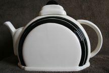 Vintage -Theepotten - Teapots / Alle soorten en maten theepotten!  All kinds of teapots!